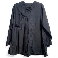 三つ結び旗袍上衣(ブラック)Qipao Jacket (Black) 綿100%