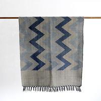 草木染め手織りタペストリー(1)