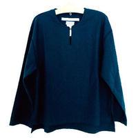 ミャオボタンシャツ(ネイビー)Miao Button Shirt (Navy)