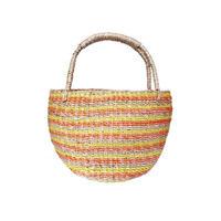 ワイルドバナナバスケット(イエローオレンジ)  Wild banana basket (Yello Orange)