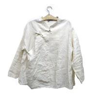 旗袍上衣(ホワイト)Qipao Jacket (White)
