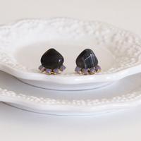Gemstone pierces - Blue agate 3