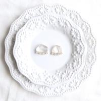 Gemstone pierce / earring - Quartz
