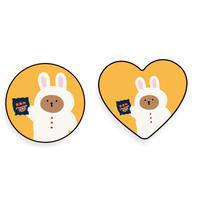 Chocolate rabbit bear grip for phone 561