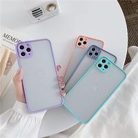 Mint blue purple peach color side iphone case