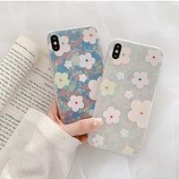 Aurora flower iphone case