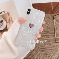 One heart shell iphone case