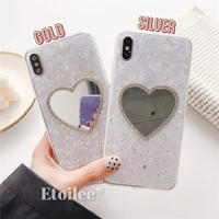 Silver gold mirror iphone case