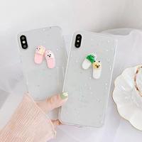 Slipper glitter iphone case