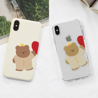 Couple pajama hard/clear case (duck) 278