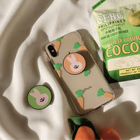 Carrot with rabbit grip iphone case