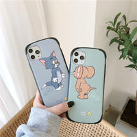 Big mouse cat green blue iphone case