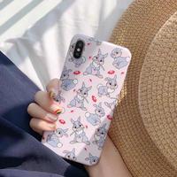 Rabbit pattern iphone case