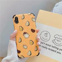 Yellow nashi iphone case