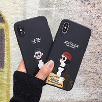 Leon Matilda TPU iphone case