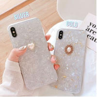 Jewel silver gold iphone case