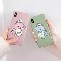 Big crocodile green pink iphone case