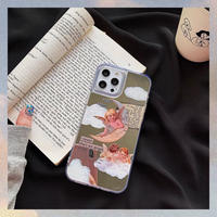 Angel mirror iphone case