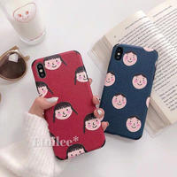 Couple face iphone case