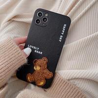 Lovely bear iphone case