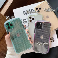 Color side net pattern iphone case