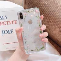 Flower frame iphone case