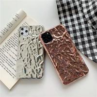 Silver rosepink shape iphone case
