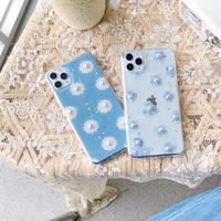 Spring flower pearl iphone case