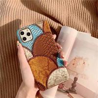 Vintage patchwork iphone case