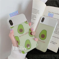 ⚠発送遅延⚠Avocado mirror iphone case