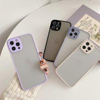 Winter simple color side iphone case
