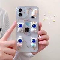 Universe glitter iphone case