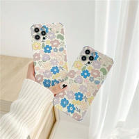 Pastel blossom iphone case
