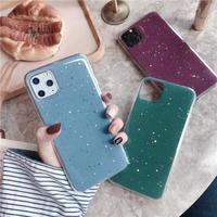 Blue Green Purple glitter iphone case