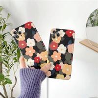 Retro multi flowers iphone case