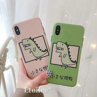 Dinosaur Green pink iphone case