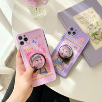 Princess girl with grip iphone case