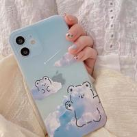 Bear cloud iphone case