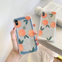 Orange frame  iphone case