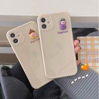 Pine cone eggplant iphone case