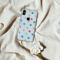 Vivid flower pattern iphone case