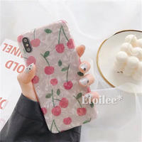 Cherry shell iphone case