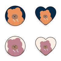 Hoodie bear grip 285