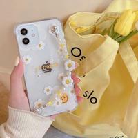 Smile flower strap iphone case