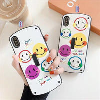 Smile black band  iphone case