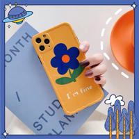 I'm fine flower iphone case