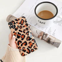 Leopard shell iphone case