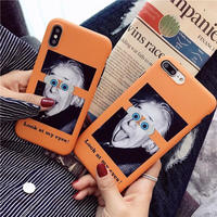 Look at my eyes iphone case