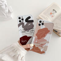 Drawing doodle iphone case