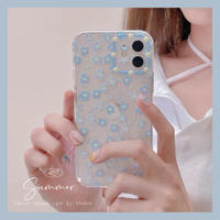Summer sky flower iphone case